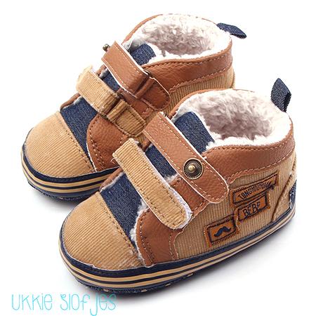 Baby schoenen winter gevoerd