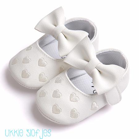 Witte Baby Ballerina schoenen