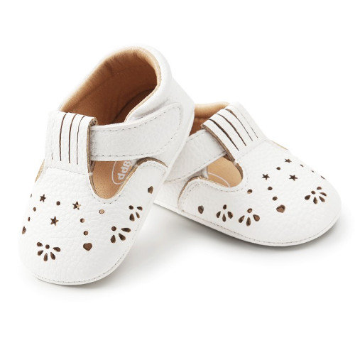 Witte Babyschoenen Ballerina