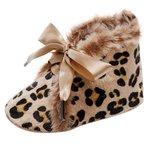 Baby Winter Schoentjes Queen Luipaard