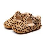 Babyschoenen Amy Leer Cheetah