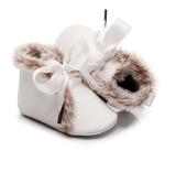 Baby Winter Schoentjes Queen White