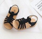 Leren Peuter sandalen Fenna Black