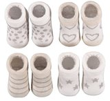 4-Pack Newborn Sokken Set 1