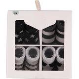 4-Pack Newborn Sokken Set 3