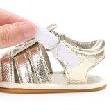 Baby sandalen joy goud