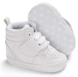 Hoge witte baby sneaker pico