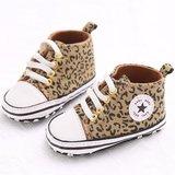 Baby Gympen Leopard Bruin