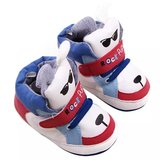 Baby Sneakers Dogs Red