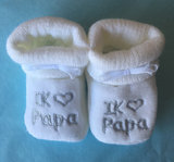I love Papa babyslofjes