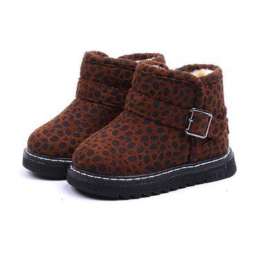 Baby Winterlaarzen Luipaard Brown Maat 21