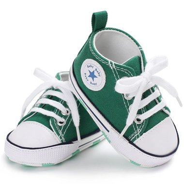 Baby Gympen Chuck Green Maat 19-20