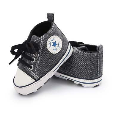 Baby Gympen Chuck Carbon Maat 19-20