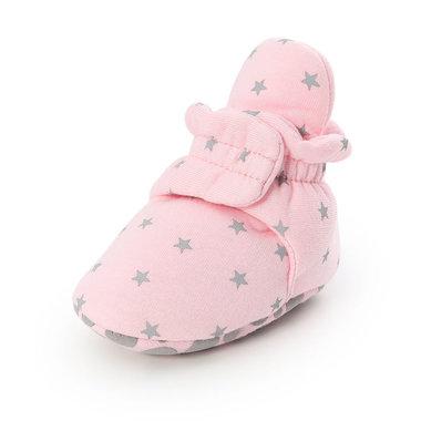 Baby Sloffen Star Pink Maat 18