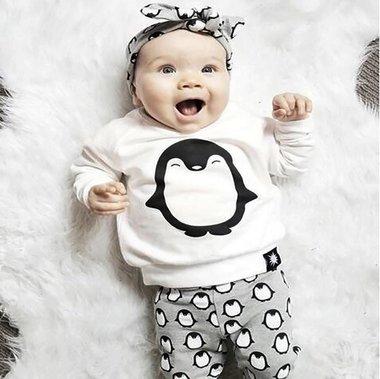 Baby Kleding Set Penguin