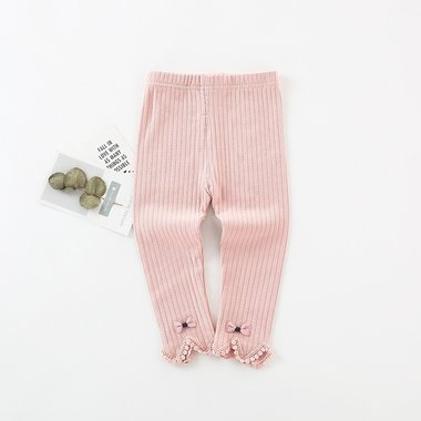 Baby Legging Knitted Pink