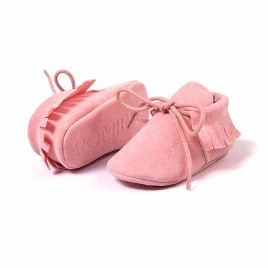 Baby Mocassin Paris Roze Maat 17-20