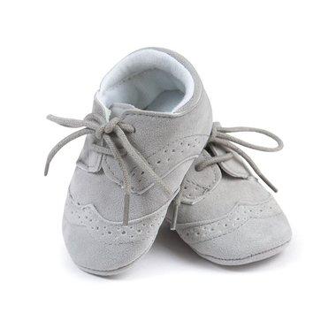 Baby Mocassin Milaan Grey Maat 17
