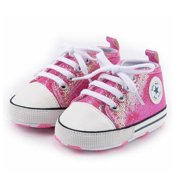 Baby Gympen Disco Pink Maat 18