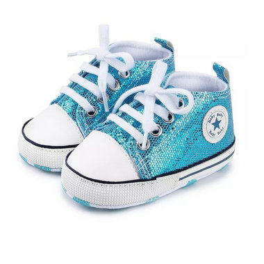 Baby Gympen Disco Blue Maat 18