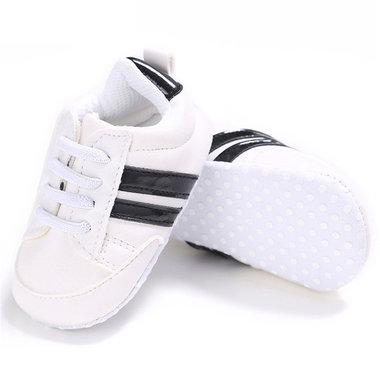 Baby Sneakers Fenna Black Maat 18-19