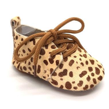 Leren Baby Mocassin Giraf Maat 20