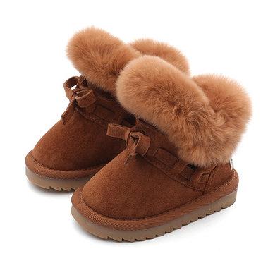 Baby Leren Winter Laarzen Hush Maat 20