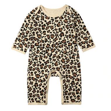 Baby Boxpakje / Romper Cheetah Maat 80