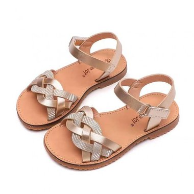 Peuter sandalen Nina Gold Maat 21-24