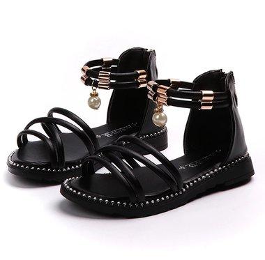 Peuter sandalen met parel Maat 21