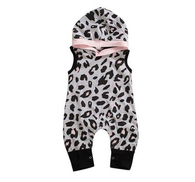 Baby Hooded Romper Panthera Maat 80