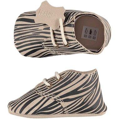 XQ Leather Little Shoes Zebra Maat 18&20