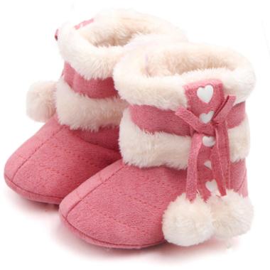 Baby Laarzen Love Pink Maat 18-20