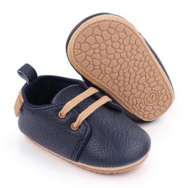 Baby Sneakers Blauw Rubber Zool Maat 17