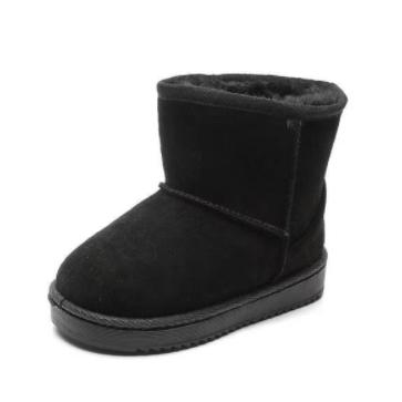 Mini Snowboots Black Maat 20-24
