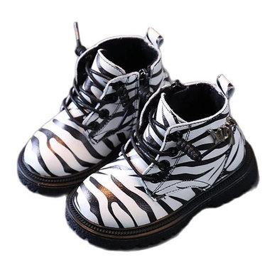Baby Peuter Laarzen Zebra Maat 21