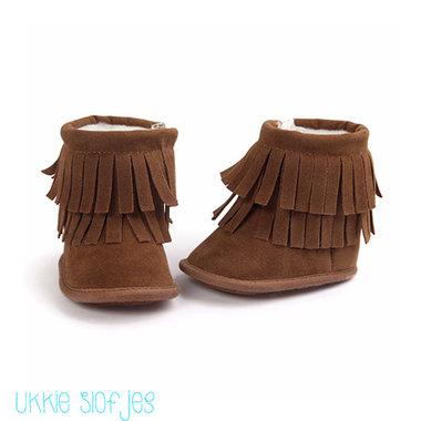 Baby Laarzen Pocahontas Brown Maat 20
