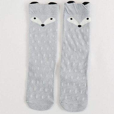 Baby Kniekousen Fox Grey 0 - 1 jaar