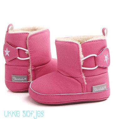 Baby Laarzen Pink Princess Maat 18,22
