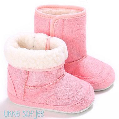 Baby Snowboots Roze Maat 19,21