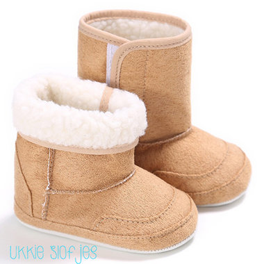 Baby Snowboots Bruin Maat 19,22