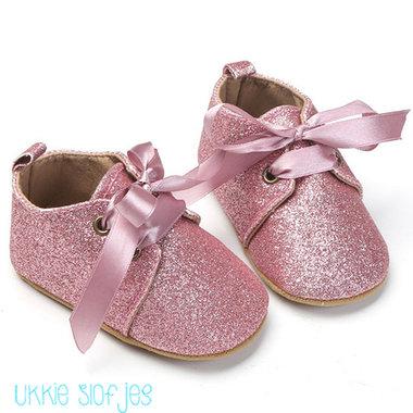 Babyschoenen Chique Me Pink Maat 20