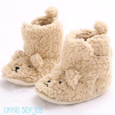 Babysloffen Fuzzy Bear