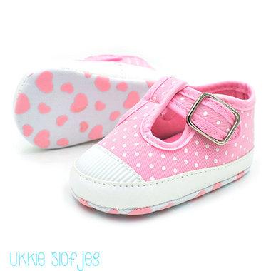 Babyschoenen Pink Dot Maat 19-21