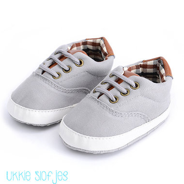 Baby Gympen Oxford Grey Maat 20