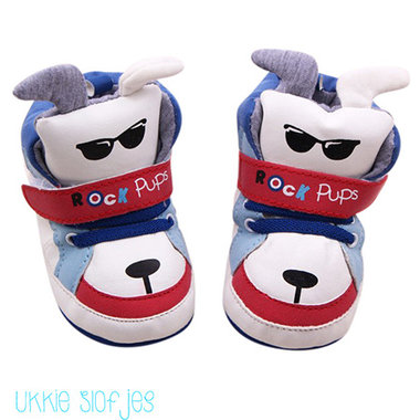Baby Sneakers Dogs Red Maat 20
