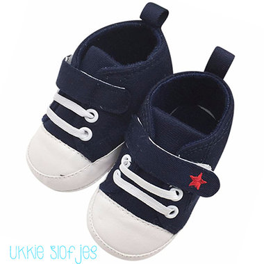 Baby Gympen Star Blue Maat 20-21