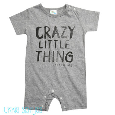 Baby Romper Crazy Little Thing