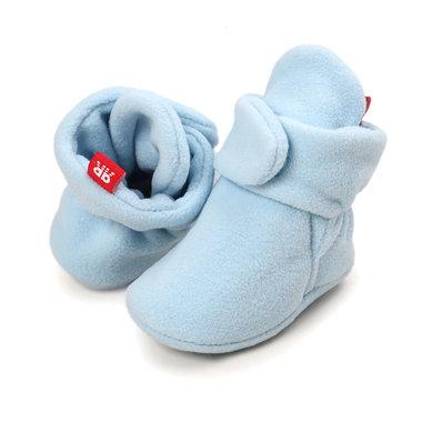 Baby Sloffen Fleece Blauw Maat 18-21