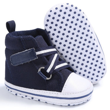 Baby Gympen Buckle Strap Blue Maat 18&21